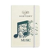 flappg mimホワイトブルー 歴史ノートクラシックジャーナル日記A 5