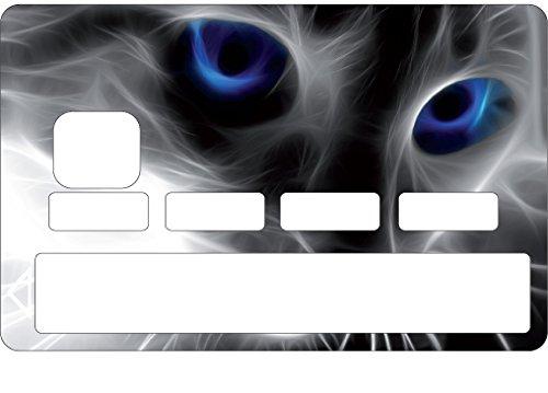 StickersNews Aufkleber Skin Kreditkarte CB Katze OEM 1103