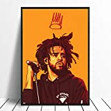 J Cole Poster J Cole Wall Print J Cole Home Decor J Cole Canvas Print J Cole Artwork J Cole Watercolor Print