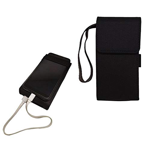 aCrafts Power Bank Wallet Case Cover for Mi 20000mAH Li-Polymer Power Bank 2i Model PLM09ZM - Black