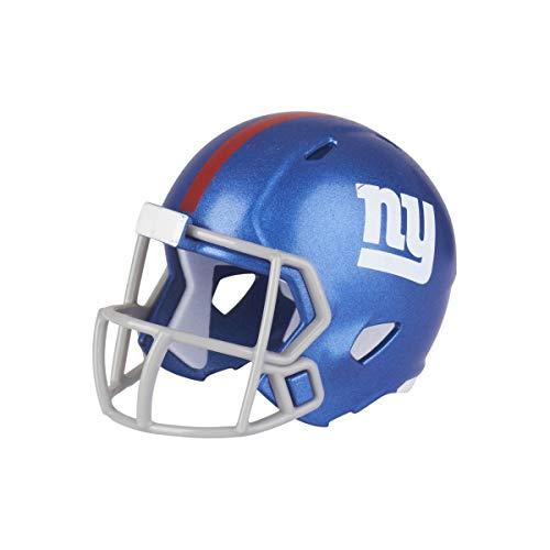 New York Giants NFL Riddell Speed Pocket Pro Micro-/Taschengröße/Mini-Fußballhelm