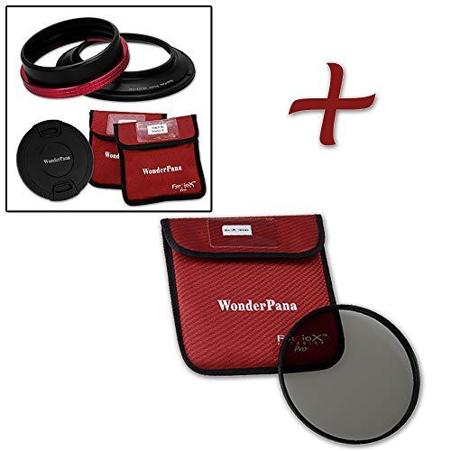 Kit Compatible with Nikon 14-24mm AF-S Zoom Nikkor f//2.8G ED AF Lens WonderPana Classic 145mm Multi-Coated CPL MC-CPL