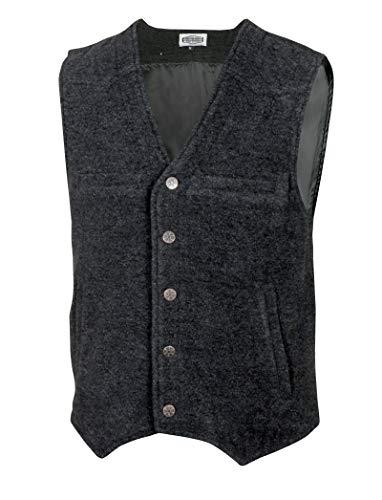 Chaleco de lana Preston de algodón, estilo occidental, Okto
