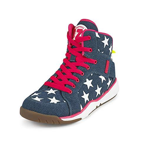 Zumba Aktiv Energy Boom High Top Sneakers Tanztraining Workout Tanzschuhe Damen, Denim Dream, 36.5