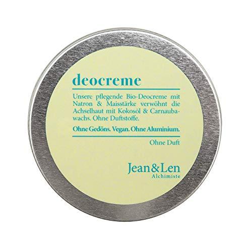 Jean & Len Deocreme ohne Duftstoffe, 50 ml