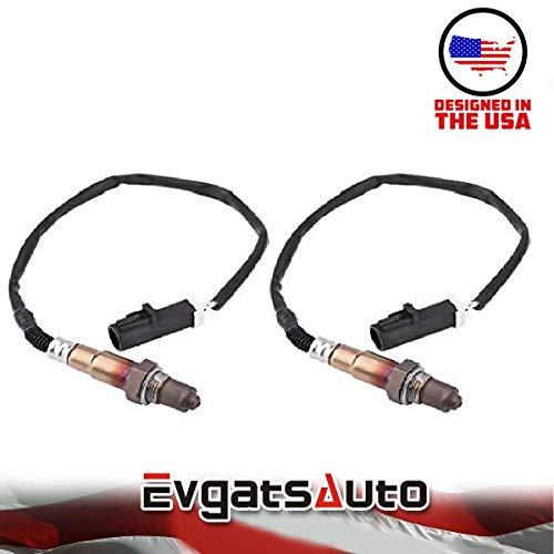 Evgatsauto 2PCS Oxygen O2 Sensor for Ford Explorer F150 Pickup Truck Mercury Lincoln SG459 2000-2007