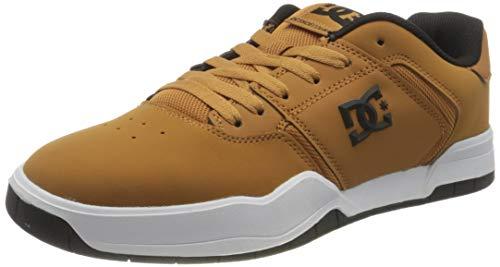 DC Shoes Central, Zapato de Skate Hombre, Wheat, 38 EU