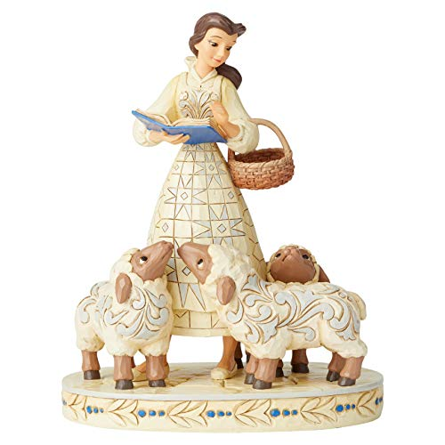 Disney Traditions Bookish Beauty Figur Belle