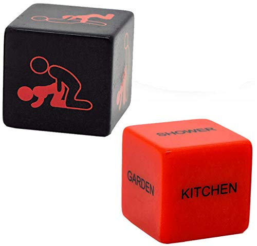 Need For Gift - Present Great for Birthday Christmas Stocking Fillers Secret Santa - Kama Dice - Ideal for Men Women Adults (1 Pack)