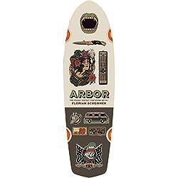 cheap Arbor Artist Pocket Rocket Longboard Deck-Only 7.75×26 Deck