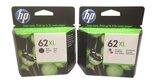 2 cartuchos de tinta originales XL para impresora HP Envy 7640 (negro/color)