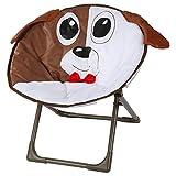 Unbekannt Kindersessel Kinderstuhl Kindermöbel Camping Klappstuhl Gartenstuhl Faltstuhl, Motiv:Hund
