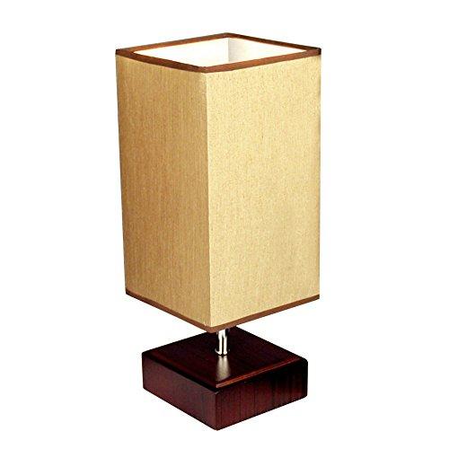 VIUNCE Moderne minimalistische IKEA houten tafellamp bureau leeslamp slaapkamer bed werkkamer warm decoratie LED-lampen tafellamp