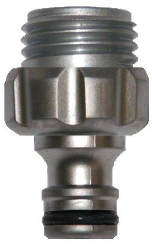 Gardena 39022-G Premium Metal Garden Hose Male Adapter