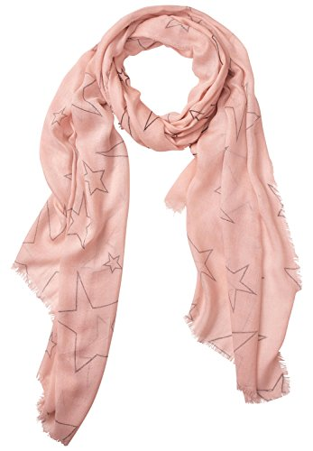 Street One Damen Schal 311444, Rosa (Studio Rose 20978), One size (Herstellergröße: A)