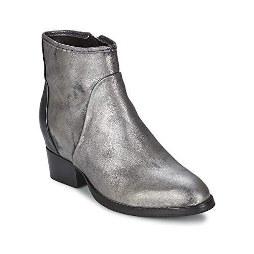 CATARINA MARTINS METAL DAVE Enkellaarzen/Low boots dames Zilver Enkellaarzen