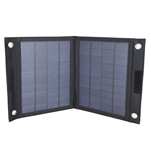 Solar-Ladetasche, wasserdichte Solarpanel-Baugruppe, faltbares Design Langlebiges Photovoltaik-Ladegerät zum Klettern im Freien Radfahren Wandern