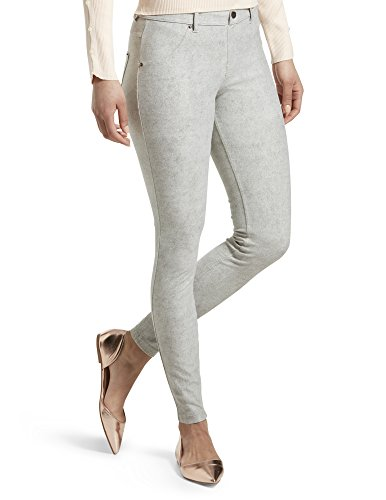 HUE Women's Essential Denim Leggings, Bleached...
