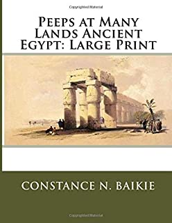 Peeps at Many Lands Ancient Egypt: Large Print