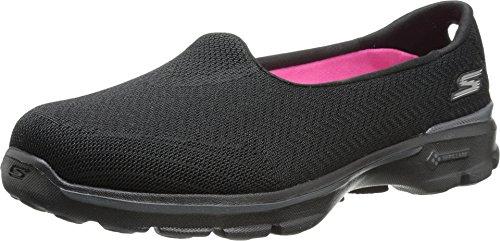 Skechers Performance Women's Go Walk 3 Insight Slip-On Walking Shoe,Black,6.5 M US