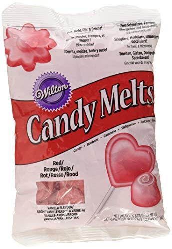 Wilton Candy Melts, Color Rojo - 340 gr