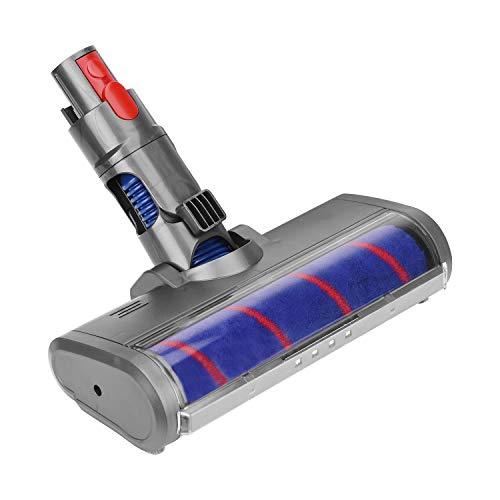 Jajadeal Spazzola a Rullo Morbido a Sgancio Rapido per Dyson V11 V10 V8 V7 Aspirapolvere per Pavimenti e Parquet