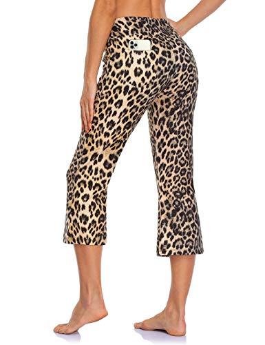 MOVE BEYOND Pantalones Capris de Yoga para Mujer de con 4 Bolsillos...