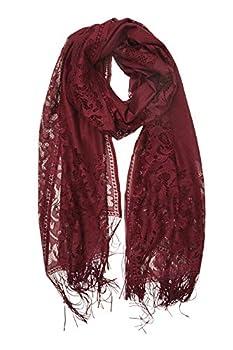 Best burgundy scarf Reviews