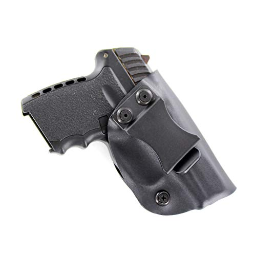 Matte Black - Kydex Concealment IWB Holster (Right-Hand, SCCY CPX-1 & CPX-2)