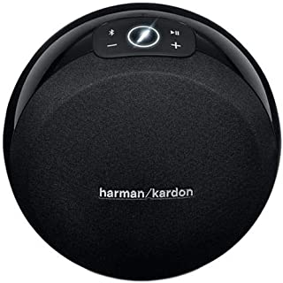 Harman Kardon Omni 10 Portable Bluetooth Speaker for Mobile Phones, Black