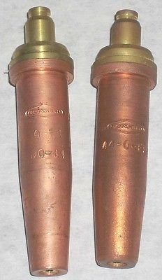 2 MAPP Propylene Cutting Torch Tips O-FS-4 Fits Oxweld