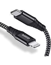 ESR USB Lightningkabel Typ C, 3.3 m, Svart