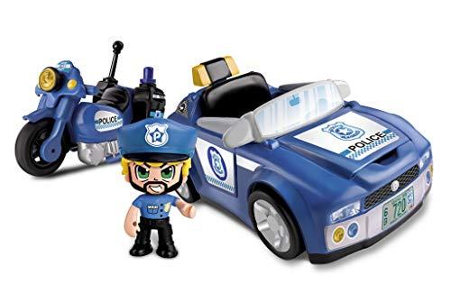 Pinypon Action- Policía Vehículos de Acción, para niños y niñas a Partir de 4 años, Multicolor (Famosa 700014495) , color/modelo surtido