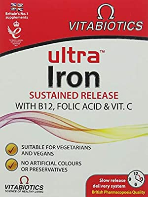 Ultra Iron Tablets, Pack of 30