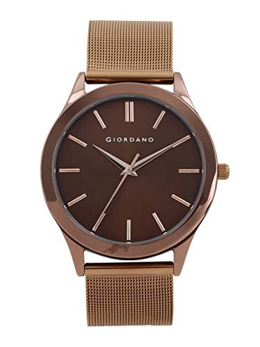 Giordano Analog Brown Dial Men's Watch-A1051-44
