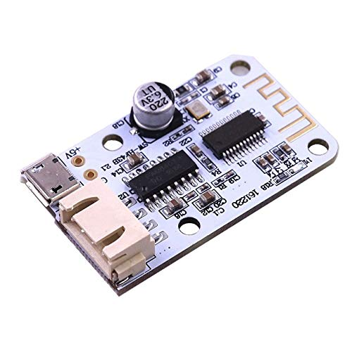 Find Discount 10PCS DC 5V Micro USB Power 3W+3W Bluetooth 4.0 Audio Receiver Board Wireless Digital ...
