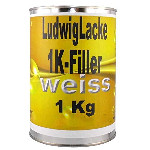 1K Füller Weiss 1 kg Grundierfüller
