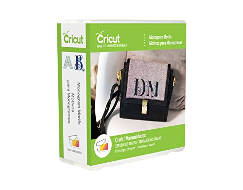 Cricut 2002932 Monogram Motifs Cartridge