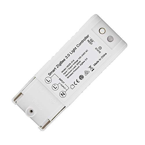 MOES ZigBee 3.0 Hub necesario DIY Smart Home Automation Interruptor mando a distancia con Echo Plus Alexa SmartThings funciona para la mayoría de concentradores ZigBee