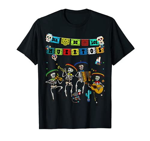 Dia De Los Muertos Papel Picado - Calavera de alfeñique Camiseta