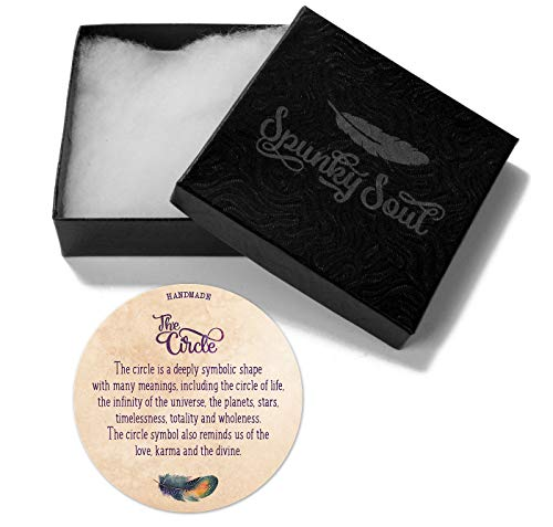 SPUNKYsoul 5 Wrap Leather Circle Bracelet 4