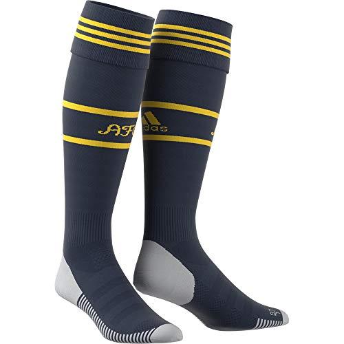 adidas Calcetines unisex Performance Arsenal, Unisex, Calcetines, EH5687, Azul marino/amarillo, Size 31 - 33