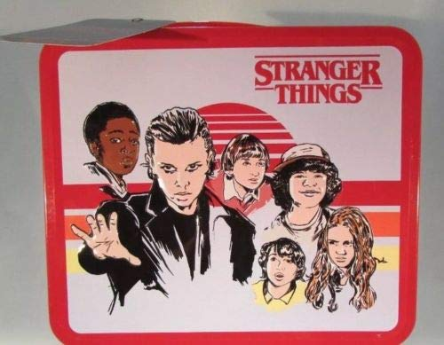 Netflix Stranger things Mike Dustin & Lucas lunch box rare.