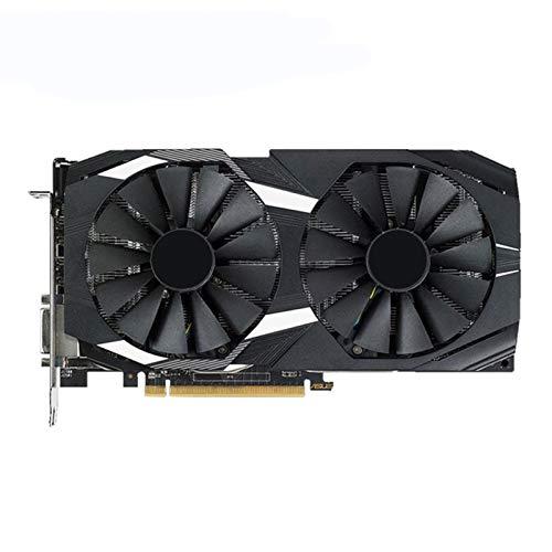 MDZZ Tarjeta De Video Ajuste Fit For ASUS RX 580 8GB Tarjeta De Video GPU AMD Radeon RX580 8GB Tarjetas De Gráficos PUBG Pantalla DE Juego VGA DVI HDMI VideoCard 570 560 550