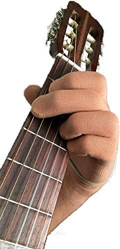 Gitarrenhandschuh Basshandschuh für Fingerspitzen von Musician Practice Glove -L- 2 Gitarrenhandschuhe - Für professionelle Musiker und Anfänger - Spielen Sie weiter mit Schnitten, medizinischen Problemen und schmerzenden Fingerspitzen