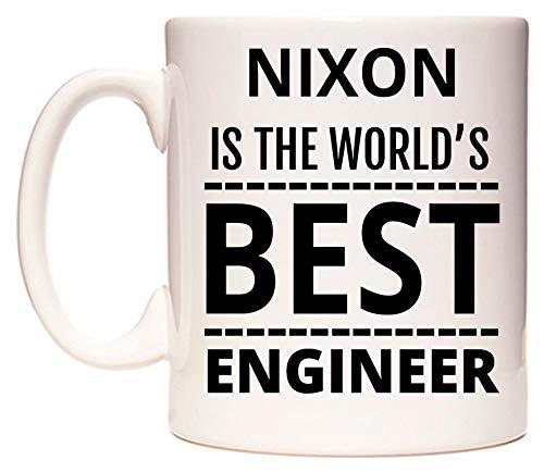 NIXON Is The World's BEST Engineer Tazza di WeDoMugs
