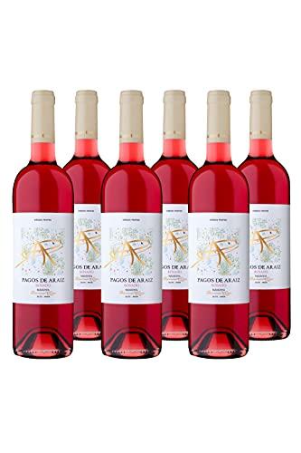 Pagos De Araiz Caja 6 Botellas Vino Rosado - D.O. Navarra - 750 ml