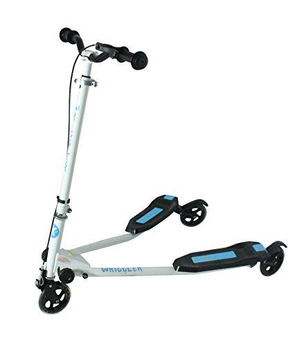 Kidzmotion Wriggler 3-Rad schwingen Roller Speeder drifter (Alter 5 bis 9) blau