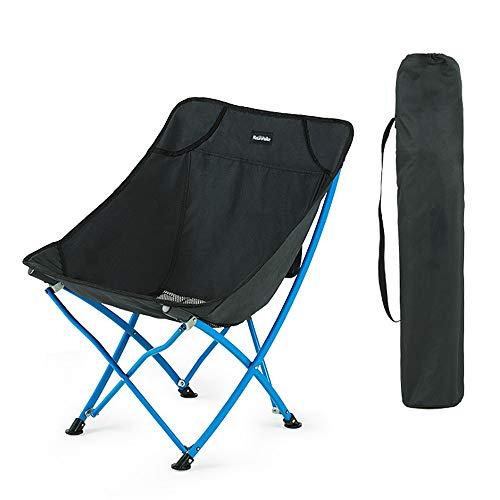 MELLRO Klappstühle Outdoor Strand Camping Tourismus Angeln Klappstuhl Tragbare Falten Camping Stuhl Erwachsene Strand Stuhl Klappstuhl Mit Umhängetasche Faltbar und einfach zu verstauen