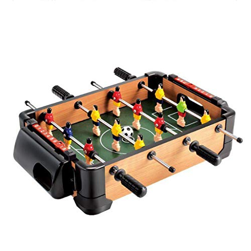 Discover Bargain QNJM Mini Foosball Table - Portable Football Game for Desktop - Kids Children Socce...